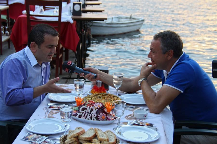 CNN Türk – Hayat Gezince Güzel mutfağımızı tanıttı