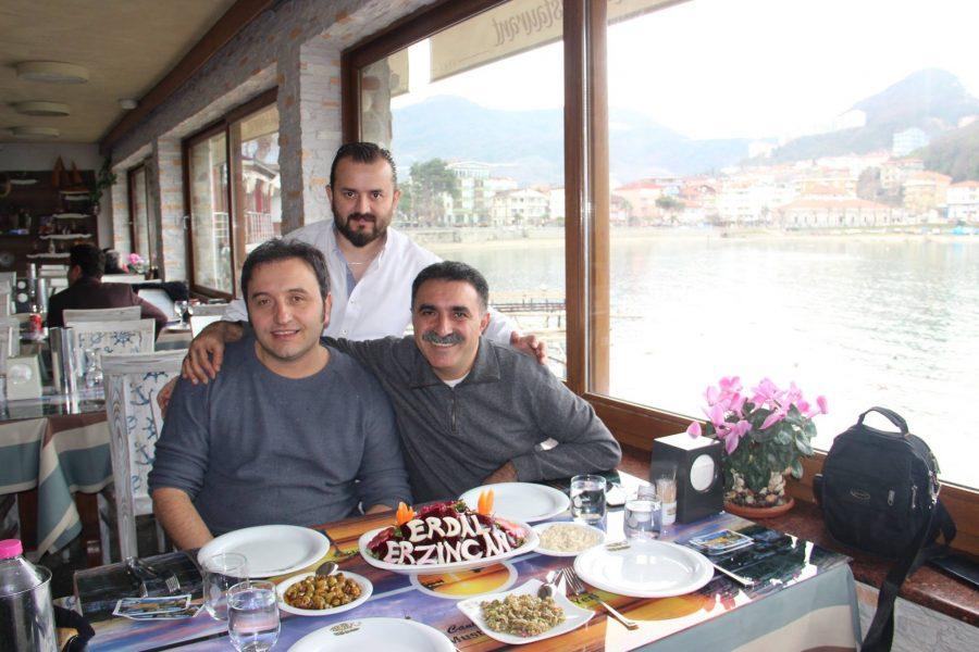 Ünlü saz virtüözü üstad Erdal Erzincan misafirimiz oldu 07.02.2017